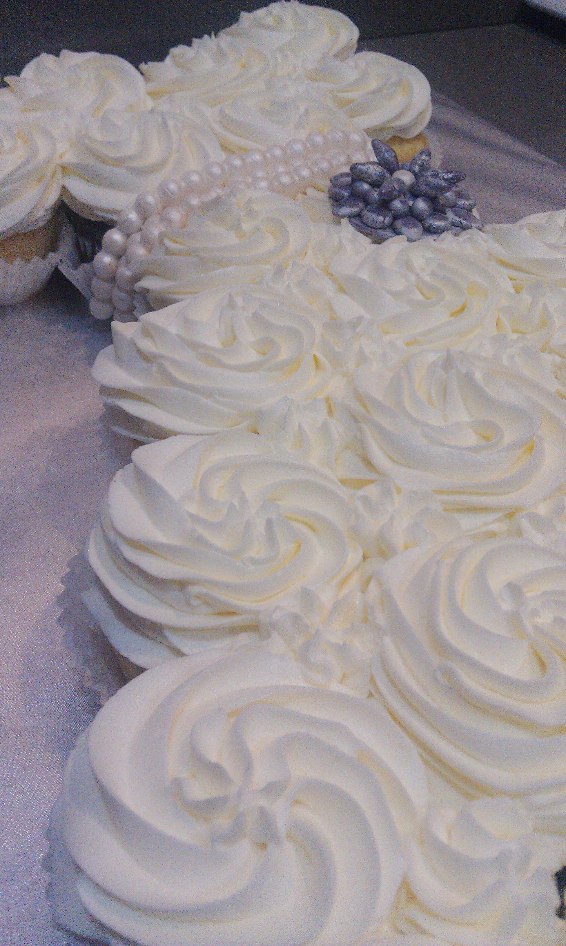 Sugarfuse Cupcakery Cake Studio bridal shower bride